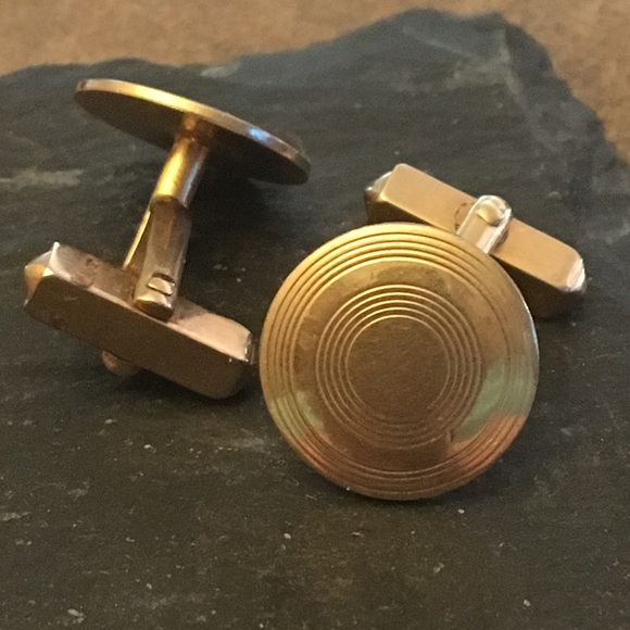 f5aa05fc5464 Swank Accessories | Gold Tone Cuff Links | Poshmark